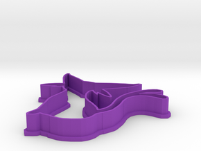 Espeon Cookie Cutter in Purple Strong & Flexible Polished