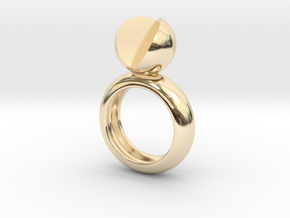 SIMPLY LOVE - size 8 in 14K Yellow Gold