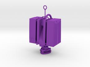 Leica HDS6200 Christmas 1/6 scale  in Purple Processed Versatile Plastic