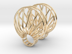 parameters | clamshell ring 2 in 14K Yellow Gold