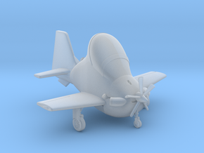 003E Super Tucano Super Deformed in Smooth Fine Detail Plastic