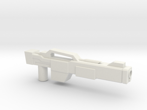 Rifle (No Details) in White Natural Versatile Plastic