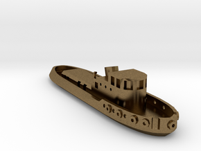 005A 1/350 Tug boat in Natural Bronze