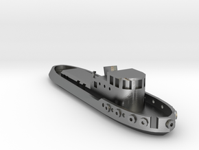005A 1/350 Tug boat in Natural Silver