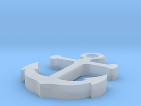 Anchor in Smooth Fine Detail Plastic