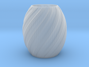 Vase Seven in Smooth Fine Detail Plastic