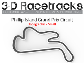 Phillip Island Grand Prix Circuit | Small in Full Color Sandstone