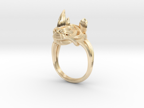 Rhinoceros Ring  in 14K Yellow Gold: 7.5 / 55.5