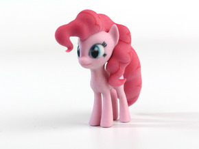 My Little Pony - Pinkie Pie (≈65mm tall) in Full Color Sandstone