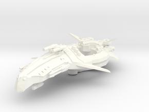 Zen Dazi Tak'agi Class Battleship in White Processed Versatile Plastic