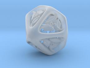 Tengwar Elvish D10 (Numbered 0-9) in Smooth Fine Detail Plastic