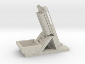 Desk/Dash Caddy Charging Dock #SWiPhone6 in Natural Sandstone