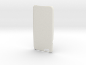 IPhone6 Open Style Moracon Colored in White Natural Versatile Plastic