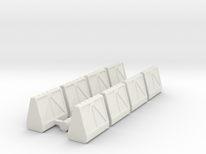 Cargo Pods 1 in White Strong & Flexible