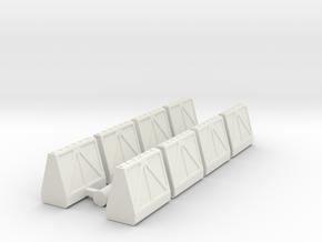 Cargo Pods 1 in White Strong & Flexible