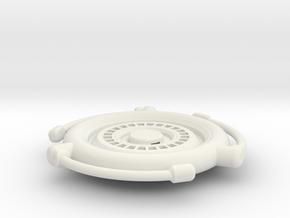 Holo Comm in White Natural Versatile Plastic
