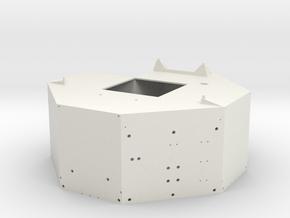 02A-J Mission-Descent Stage Body in White Natural Versatile Plastic
