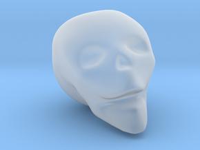 Skull Mini in Smooth Fine Detail Plastic