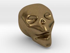 Skull Mini in Natural Bronze