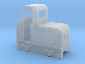 O9 early Jung diesel loco  in Smooth Fine Detail Plastic