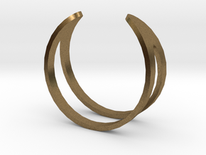 Ring19(18mm) in Natural Bronze