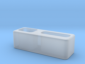 Macbook Pro Dock Cable (Thunderbolt & MagSafe) in Smooth Fine Detail Plastic