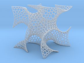 Cubic Gyroid (Voronoi) in Smooth Fine Detail Plastic