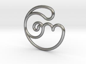 TubeRose in Natural Silver
