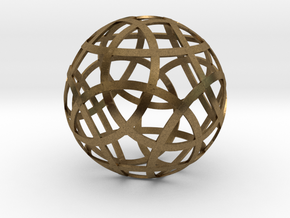 Stripsphere12 in Natural Bronze