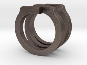 Helixois Ring 60 in Stainless Steel