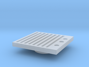 Blanking Grate #2 (n scale) in Smooth Fine Detail Plastic