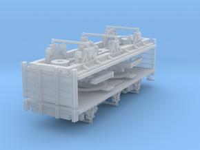 ZB (H0e) - 3ax-Drehschemelwagen-Paar in Frosted Ultra Detail