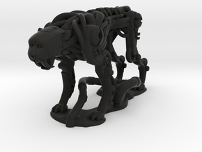 RoboCheetah in Black Natural Versatile Plastic