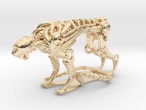 Robot Cheetah 50% in 14K Yellow Gold