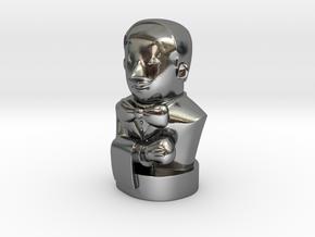Mr.Jenkins (v2) in Polished Silver