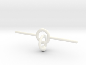 Industrial piercing without balls in White Processed Versatile Plastic
