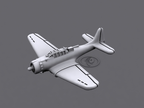 1/900 Douglas SBD Dauntless (x12) in Smooth Fine Detail Plastic