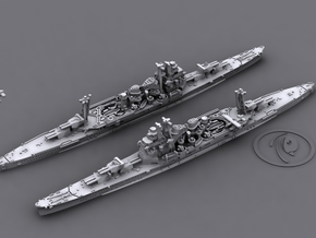 IJN CA Takao [1942] in White Natural Versatile Plastic: 1:1800