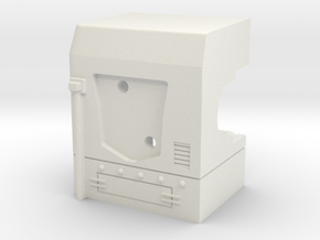 MP-10 Right Shoulder  in White Natural Versatile Plastic