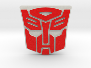 Right Hand Autobot in Full Color Sandstone