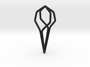 A-LINE Honeyfull, Pendant. Pure Elegance. in Black Natural Versatile Plastic