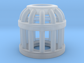 Birdcage Bead 2 (All Materials) in Smooth Fine Detail Plastic