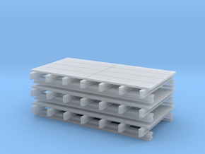 1:50 Schalungstisch Set 2.0 x 4.0m in Smooth Fine Detail Plastic