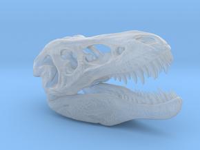 Tyrannosaurus Rex pendant 50mm in Smooth Fine Detail Plastic