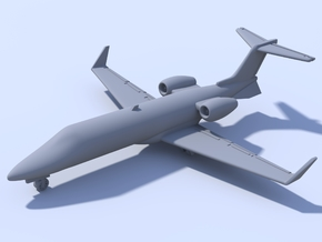 1:500 - Learjet_45 [Sprue] in Smooth Fine Detail Plastic