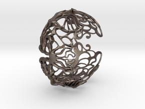 BUTTERFLY BRACCIALE in Polished Bronzed Silver Steel