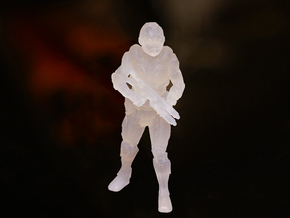 Future Soldier - 28mm Tall in Frosted Ultra Detail