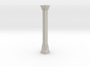 Colomn Statuette in Natural Sandstone