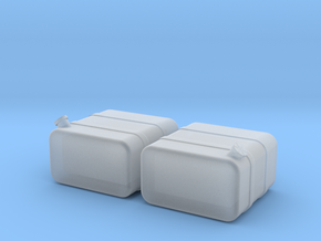 "1/87th HO Scale 24"" square fuel tanks in Smooth Fine Detail Plastic"