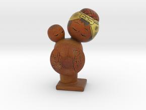 The Kokeshi Doll in Full Color Sandstone